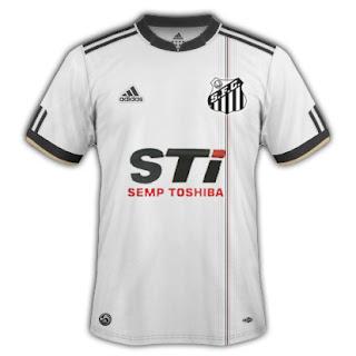 Giba - Camisas fantasias (mockups)  Santos feita pela Adidas ... 9343ee1954934