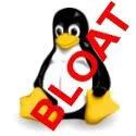 Linux kernel bloat