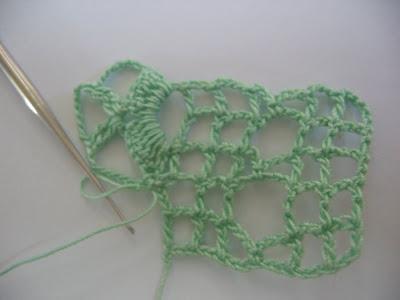 Resim+049 Yeşil Havlu Kenarı ve Yapılışı(Resimli Anlatım)