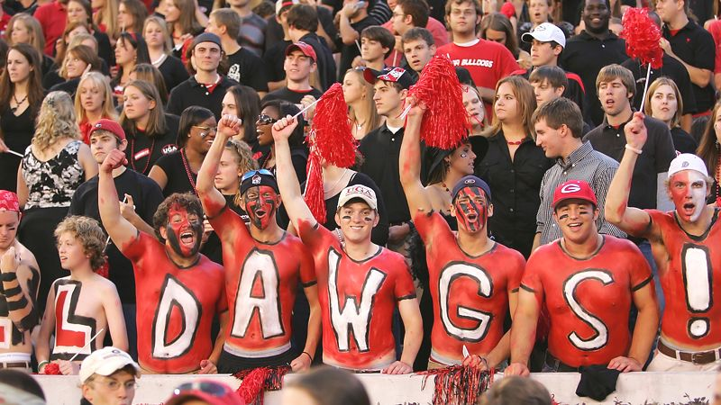 University of Georgia Bulldogs UGA top party schools review fiesta Frog