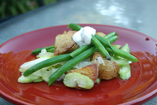 and green bean salad warm green bean salad green bean salad with fried ...