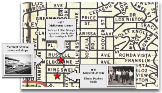 2719 hyperion walt disney 39 s los angeles 1923 1931 a bicycle ride to kingswell - Walt disney office locations ...