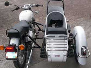 Sidecar with tail light