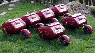 PAV motorcycle trailers.