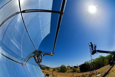 Energie solaire Europe, Afrique du Nord : projet Desertec