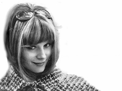 Françoise Dorléac, soeur de Catherine Deneuve, actrice et mannequin Dior des années 60. Francoise Dorleac, french actress and Dior model, Catherine Deneuve's sister - Cul de sac, The soft skin, That man from Rio