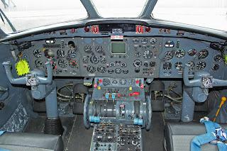 nord 262E 60 EALC Cockpit