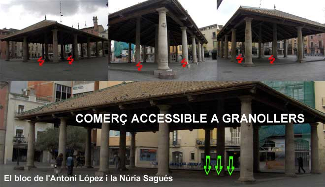 Comerç accessible a Granollers