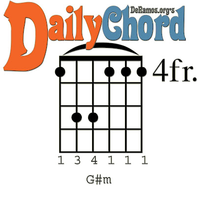 Chord du Jour: Lesson #51: G# Minor and the Capo / Barre (Guitar ...