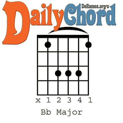 Chord du Jour: Lesson #66: Nine Chords in Bb (Guitar, Beginner ...