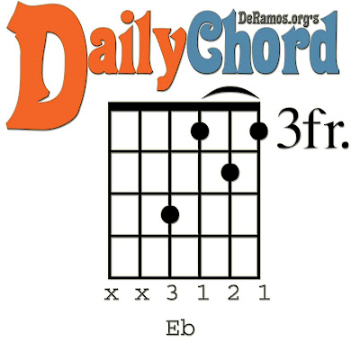 Chord du Jour: Lesson #59: Eight Chords in Eb (Guitar, Beginner ...