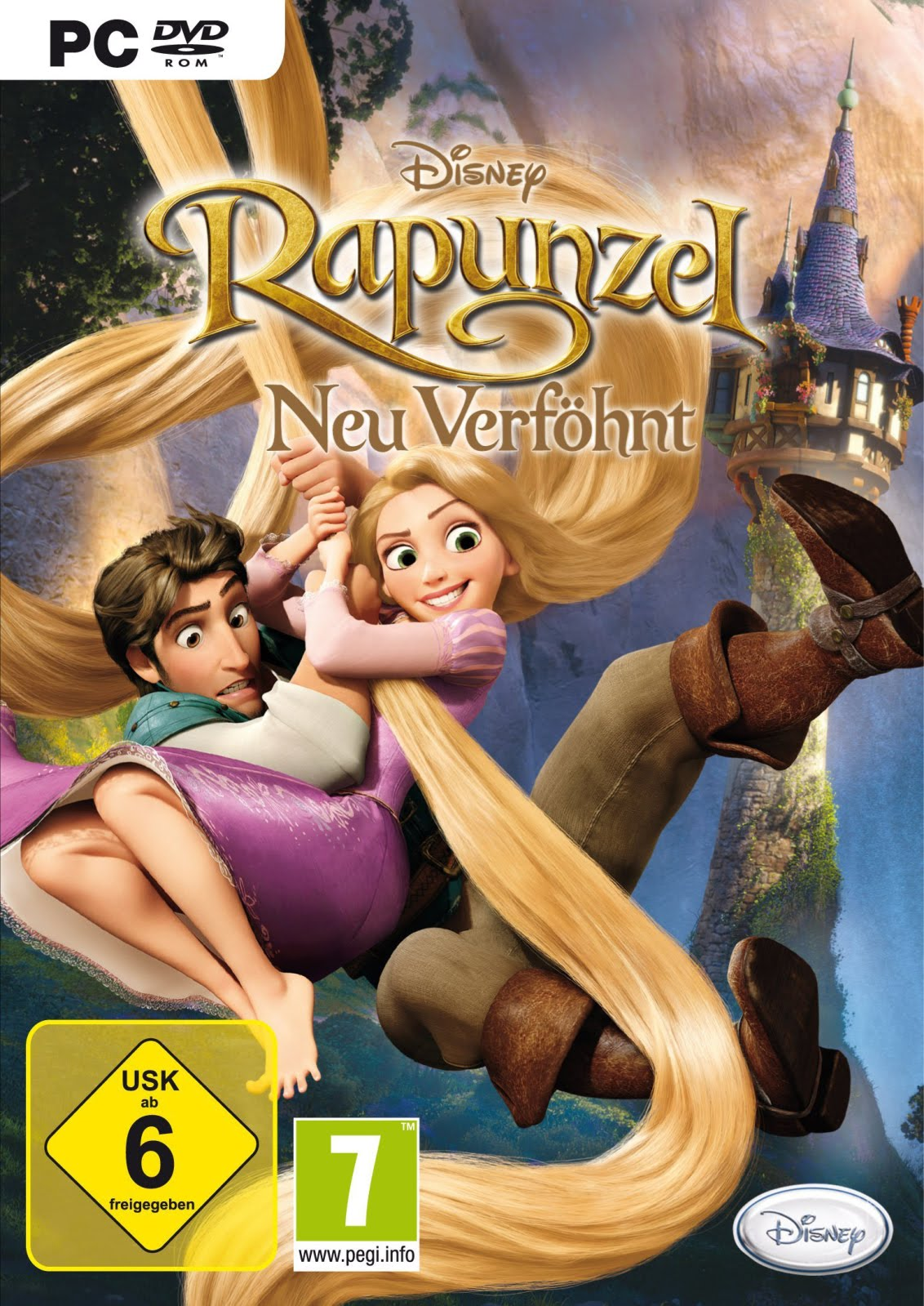 Princesas disney juego de rapunzel para nintendo ds - Telecharger raiponce ...