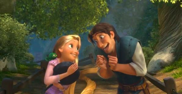 Princesas Disney: Nueva Imagen Enredados - Rapunzel & Flynn