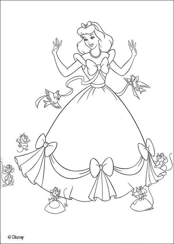 Dibujos para colorear de la pelicula la bella y la bestia