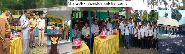 MTs GUPPI Biangloe Kabupaten Bantaeng Sulawesi Selatan