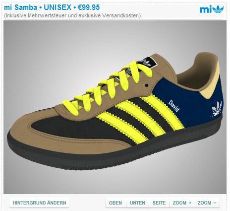 Mein Mi Adidas Schuh