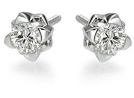 Pretty Diamond Stud Earrings Jewelry Designs