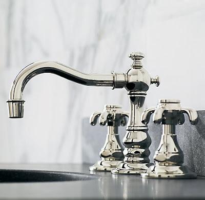 Desert girls vintage future diy dresser turned sink for Restoration hardware bathroom faucets