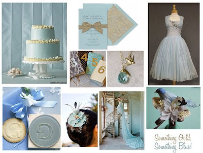 Baby Blue Wedding Invitations