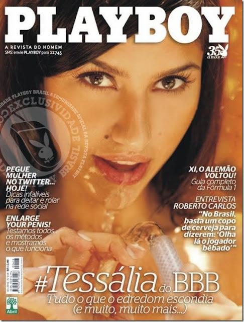 Playboy Tessalia BBB Big Brother