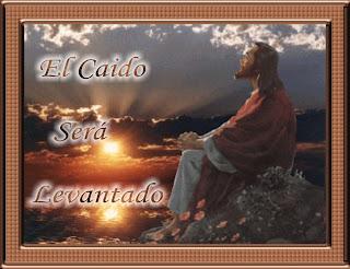 Jesus levantando al caido
