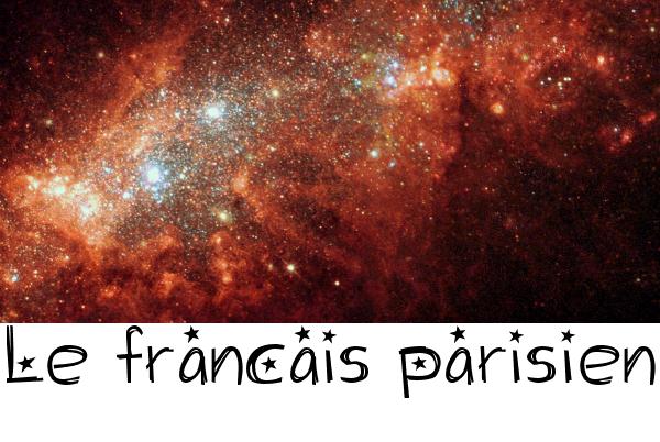 Le français parisien