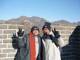 Di Tembok Besar China