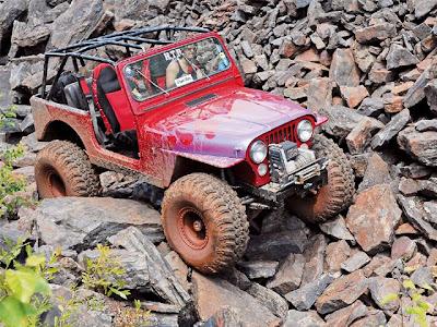 red jeep climb