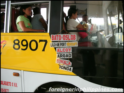 Ceres bus will stop at Liloan Port, Cebu for fastcraft to Negros Oriental