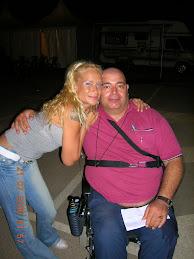 Miriam, Bailarina de Sergio Contreras y yo.