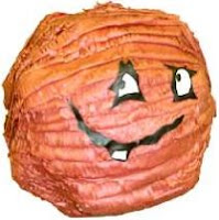 a picture of a custom made Meatwad pinata, originally from www.pinatas.com