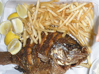 Pedro Fish Market on Whole Tilapia Grilled At The San Pedro Fish Market  Where You Can