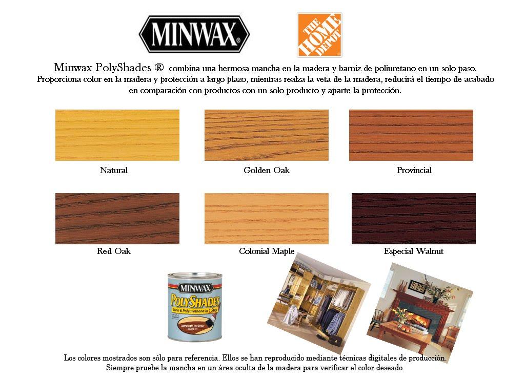 Productos minwax productos exclusivos de the home depot for Home depot productos