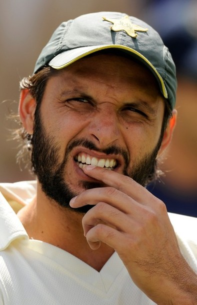 captain Shahid Afridi has