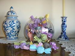 Caramelos de lavanda