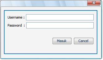 tutorial java membuat halaman login dengan netbeans