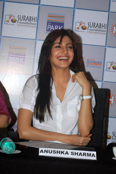 anushka sharma at handicrafts promotion hot photoshoot
