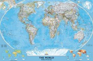 Nada pra fazer Mapa Mundi Politico
