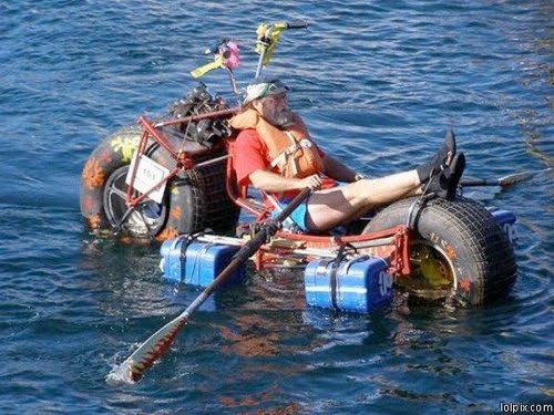 Harley 3 Wheeler >> Wonderful World: 20 Funny Boats