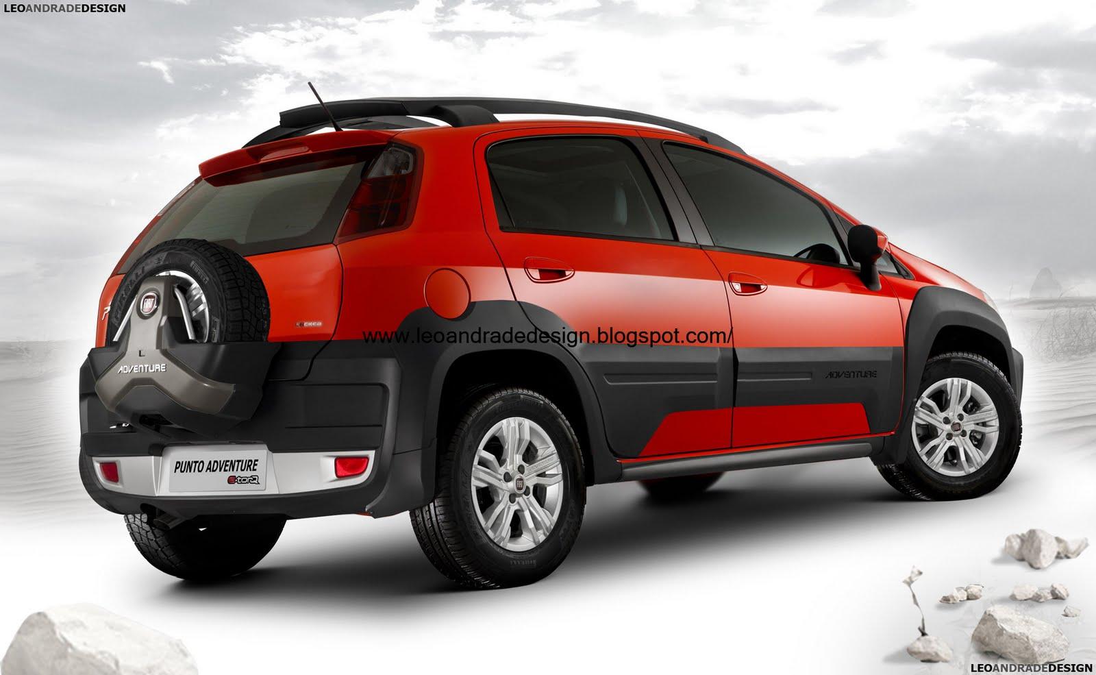Leo Andrade Design: Fiat Punto Adventure
