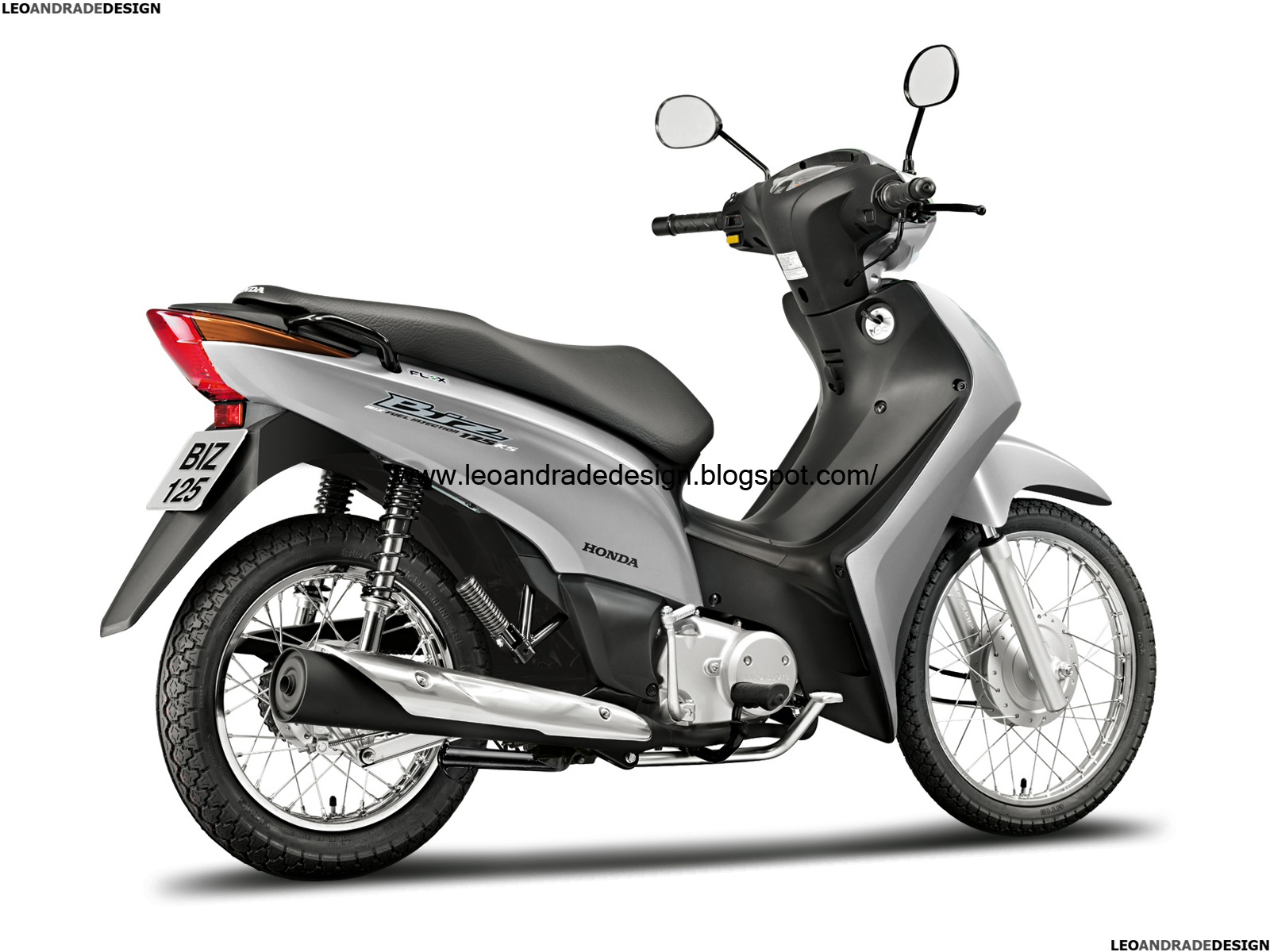 Honda Biz 125 Flex 2011   Reestiliza    o   Leo Andrade Design