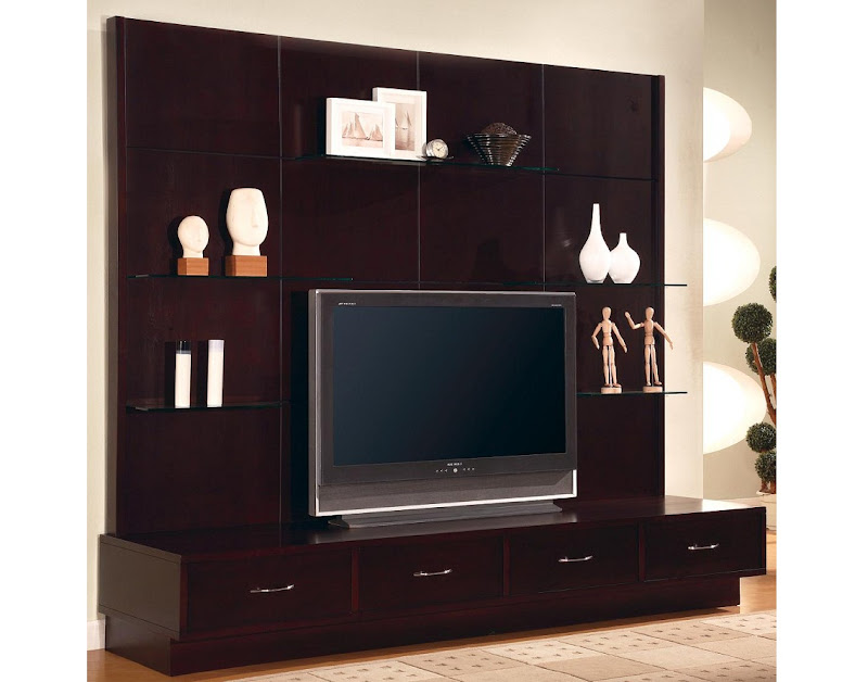 Flat Screen Tv Wall Cabinet Designs (4 Image)