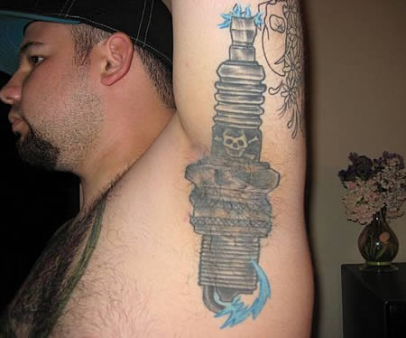 12 Most Bizarre Armpit Tattoos Around The World