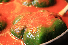 Spicy Stuffed Green Peppers