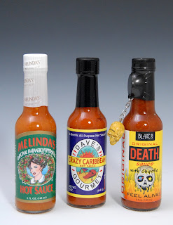 Three Caribbean Style Hot Sauces