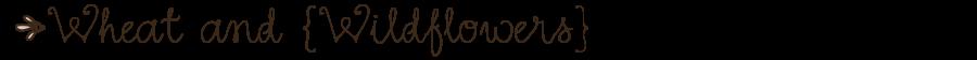 Wheat and Wildflowers {Jewelry}