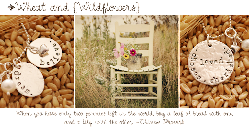 Wheat and Wildflowers {the blog}