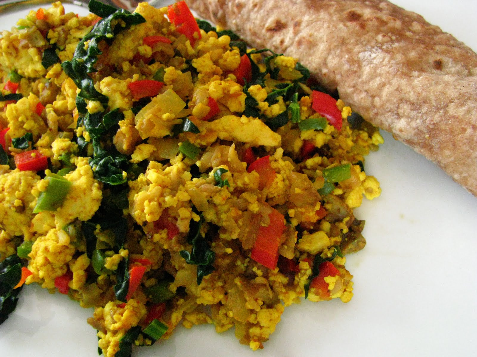 CakeWalk: Vegan Monday: Tofu Scramble (and Bonus: Sweet Potato ...