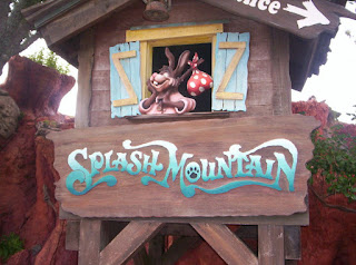 Splash Mountain Closed Briefly Today.