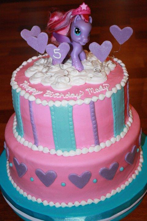 Custom Cakes By Britt: My Little Pony Birthday Cake